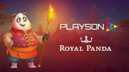 Playson games studio now live with Royal Panda