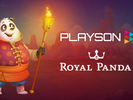Playson games studio now live with Royal Panda