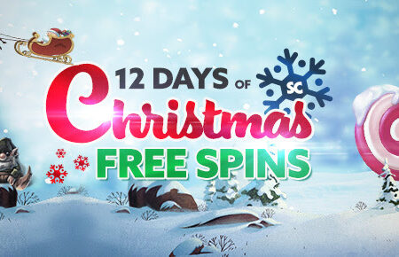12 days of (wager free) free spins for Christmas!