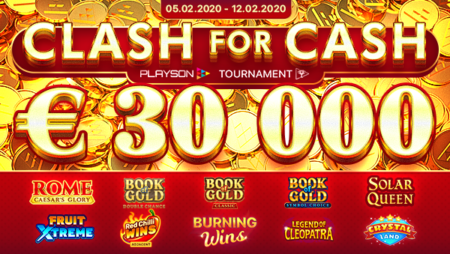 Slots tournament with Playson (€30,000 Guaranteed prize pool)