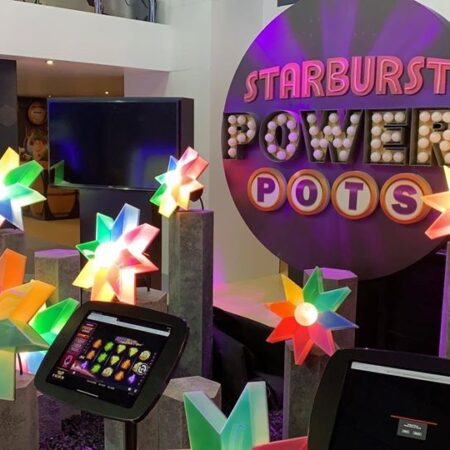 NetEnt unveils Starburst PowerPots at London ICE 2020