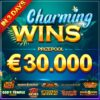 Charming Wins Slot tournament (Booongo) €30K prize pool!