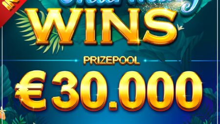 Charming Wins Slot tournament (Booongo) €30K prize pool!