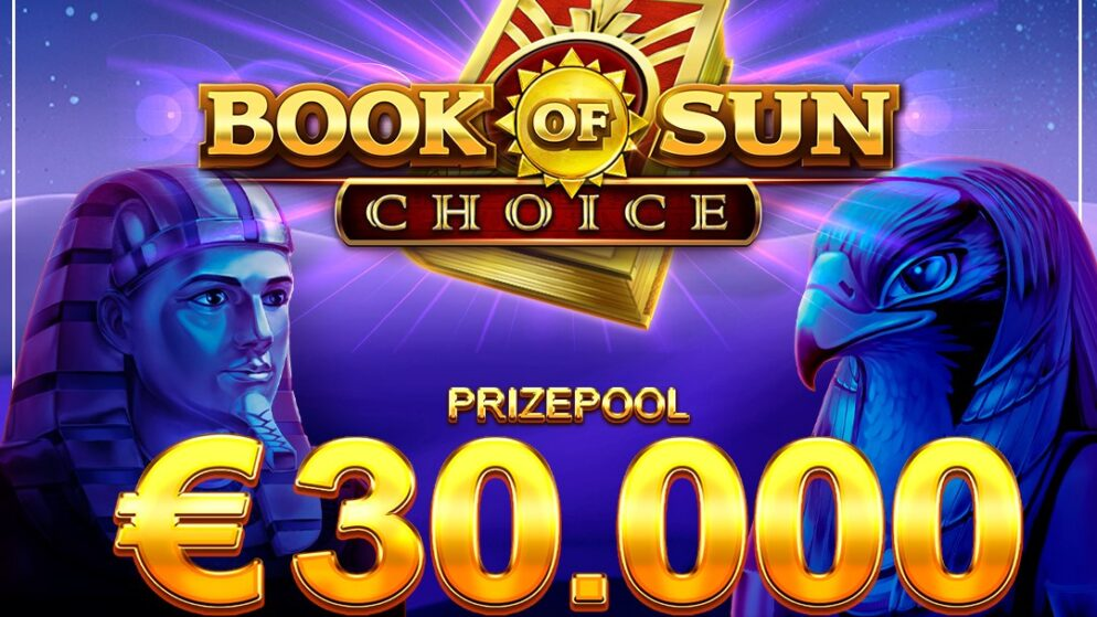 Book of Sun: Choice  (Booongo) €30K Slots tournament