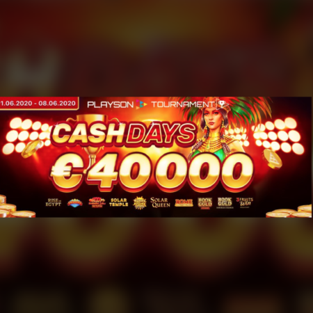 Playson €40K slot tournament