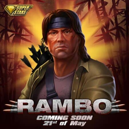 Only 9 days until the release of the new Rambo™ slot (Stake Logic)